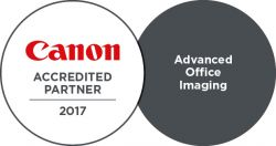 EBT ist Canon Accredited Partner - Advance Office Imaging