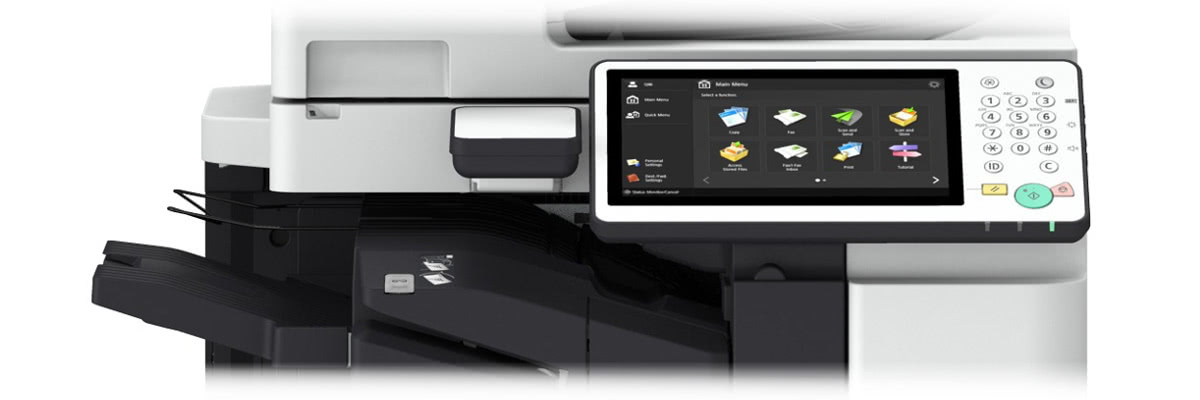 Canon Farbtouch-Display mit vielen Buttons